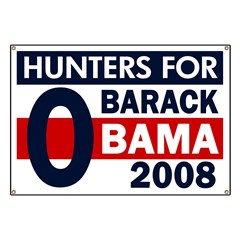 Hunters for Barack Obama Banner