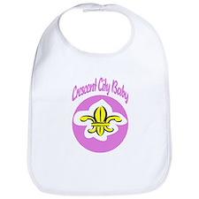 Crescent City Baby Fleur De L Bib