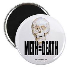 10 Pack Meth Equals Death Magnets