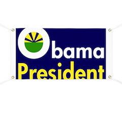 Obama for President 2008 Banner