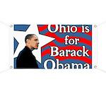 Ohio is for Barack Obama Star Banner