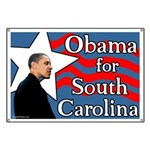 South Carolina Barack Obama banner