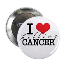 "i heart killing cancer 2.25"" Button"