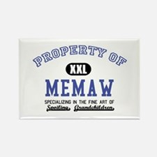 Property of Memaw Rectangle Magnet