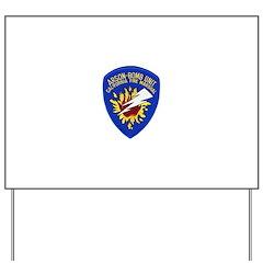 California Fire Marshal Yard Sign