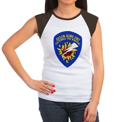 California Fire Marshal Women's Cap Sleeve T-Shirt