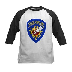 California Fire Marshal Kids Baseball Jersey