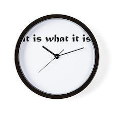Cute Iiwii Wall Clock