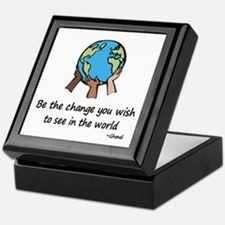 Be the Change Keepsake Box