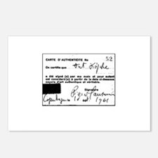 Manzoni Certificate Postcards (Package of 8)
