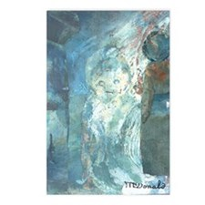 Three Faces Postcards (Package of 8)