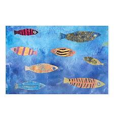 Aquarium Postcards (Package of 8)
