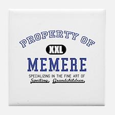 Property of Memere Tile Coaster