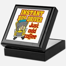 Instant Bus Driver Keepsake Box