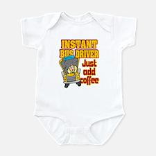 Instant Bus Driver Infant Bodysuit