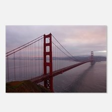 Golden Gate Bridge at Dusk after Sunset