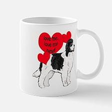 landseer love newf Mug