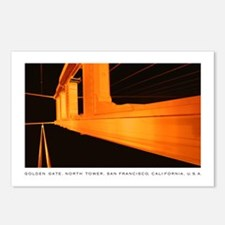 San Francisco Golden Gate Night Postcards (6)