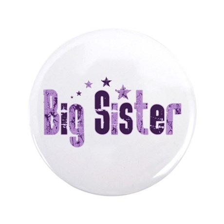 """Purple Indie Stars Big Sister 3.5"""" Button (100 pac"""