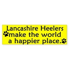 Happy Place Lancashire Heeler Bumper Bumper Sticker