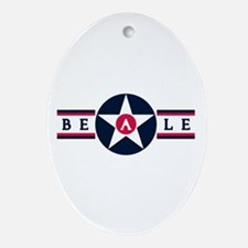 Beale Air Force Base Oval Ornament