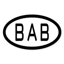 Beale Air Force Base Euro Style Decal