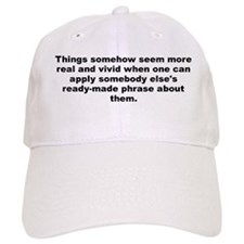 Huxley quote Baseball Cap