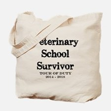 Vet School Survivor 2018 Tote Bag