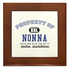 Property of Nonna Framed Tile