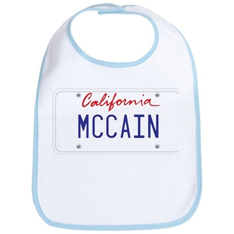 California Supports McCain Bib