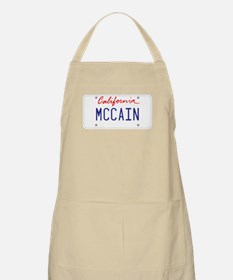 California Supports McCain BBQ Apron