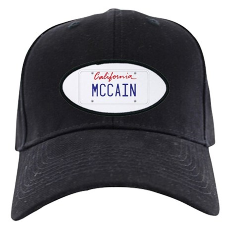 California Supports McCain Black Cap