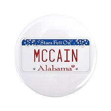 """Alabama Supports McCain 3.5"""" Button"""
