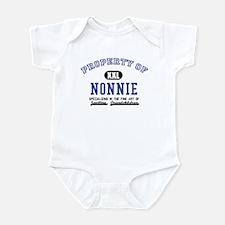 Property of Nonnie Infant Bodysuit