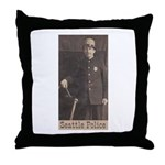 Seattle PD Throw Pillow
