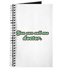 Call Me Doctor Journal