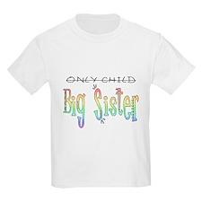 Big Sister Rainbow T-Shirt