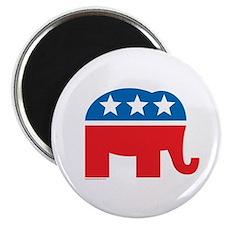 Republican Elephant Logo Magnet