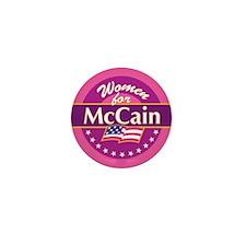 Women for McCain Mini Button