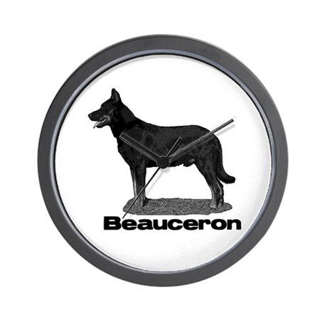 Beauceron Wall Clock