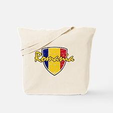 Romanian soccer shield Tote Bag