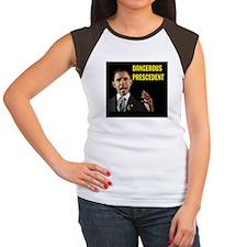 OBAMA SURRENDERS Women's Cap Sleeve T-Shirt