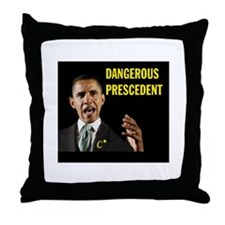 OBAMA SURRENDERS Throw Pillow