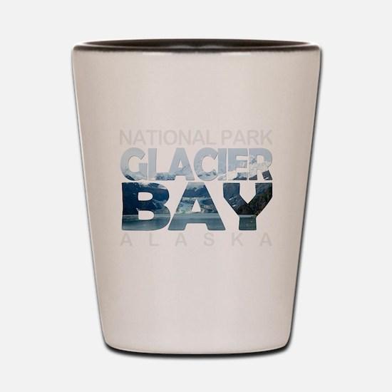 Cute Glacier national park montana Shot Glass