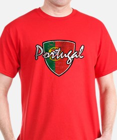 Portuguese distressed Flag T-Shirt