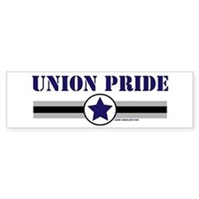 UNION PRIDE STAR Bumper Bumper Sticker