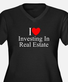 """I Love (Heart) Investing In Real Estate"" Women's"