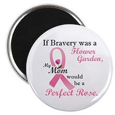 Bravery A Flower Garden 1 (Mom) Magnet