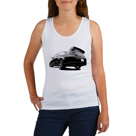 Black Cobalt SS Women's Tank Top