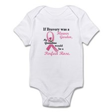 Bravery A Flower Garden 1 (Grandma) Infant Bodysui